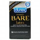 Durex Avanti Bare Lubricated (12 pack)