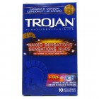Trojan Naked Sensations Fire & Ice (10 pack)
