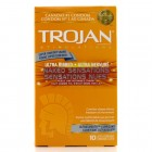 Trojan Naked Sensations Ultra Ribbed (10 pack)