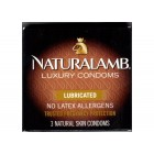 Trojan Naturalamb Lubricated (3 pack)